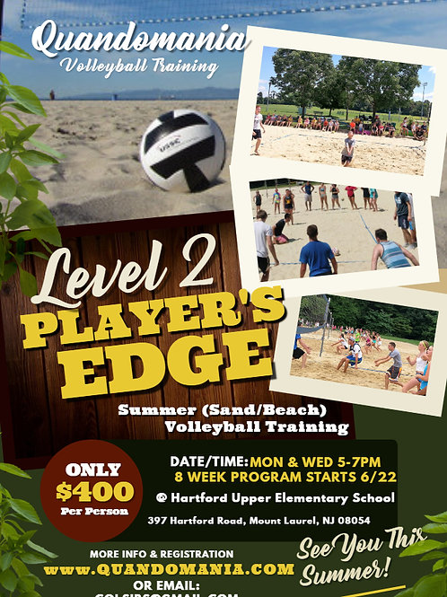 Level 2 Players Edge (Mt. Laurel Location)