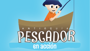 PESCADOR EN ACCIÓN
