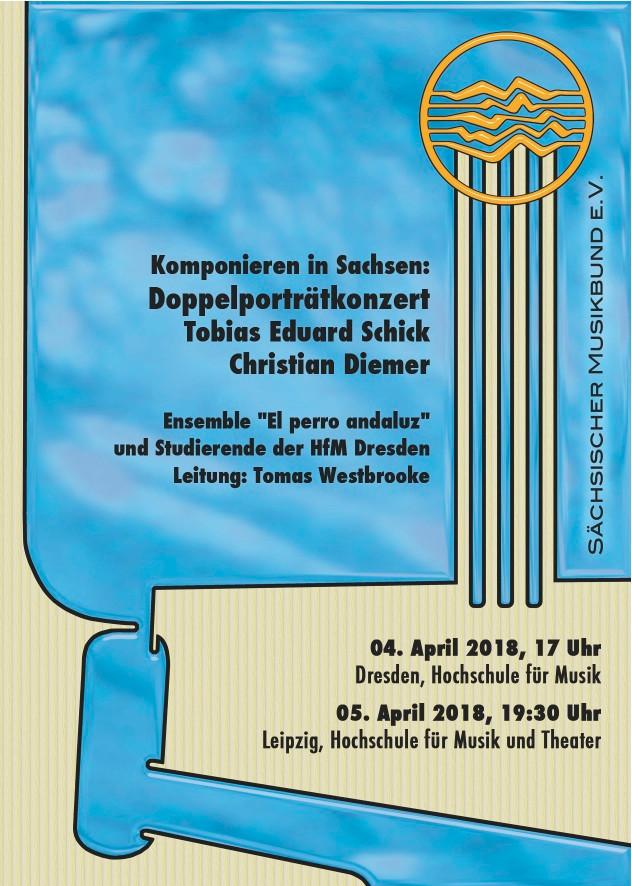 Concertino (UA) und Scale Fade @Doppelportraitkonzerte in Dresden und Leipzig