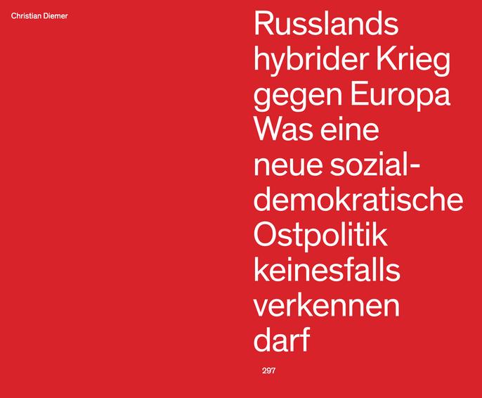 Essay zur Ostpolitik @Anthologie zur Bundestagswahl