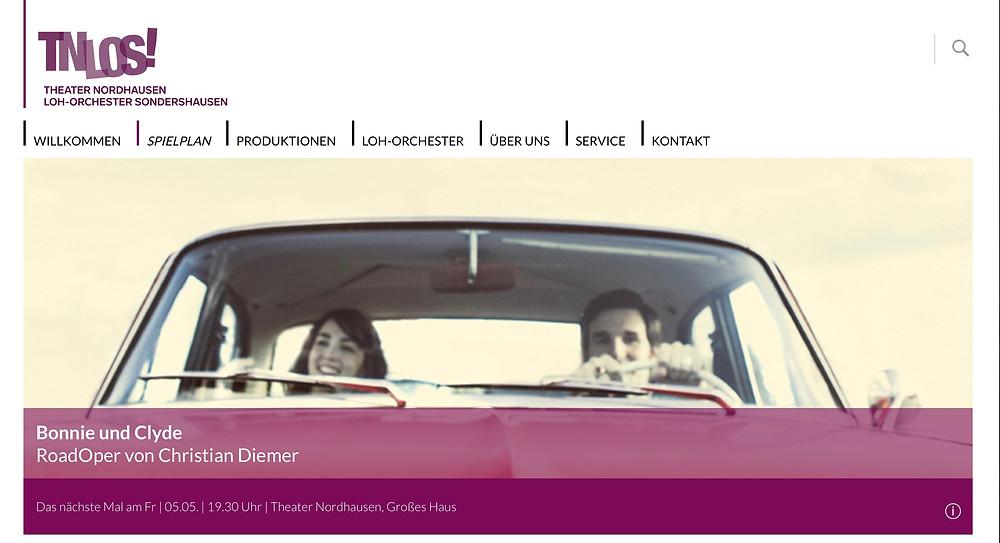 Bonnie & Clyde auf der TNLOS!-Webseite