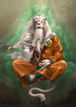 Ajani the Transcended