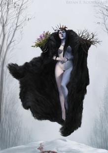 Hel, goddess of the dead