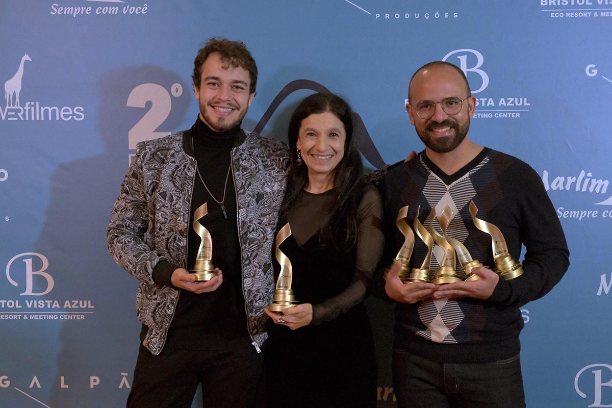 Tutty Mendes, Tuna Dwek e André Morais