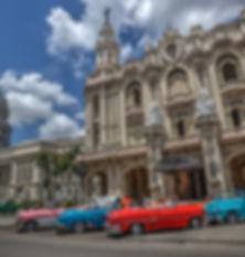 Havana Cuba Old cars Film productions