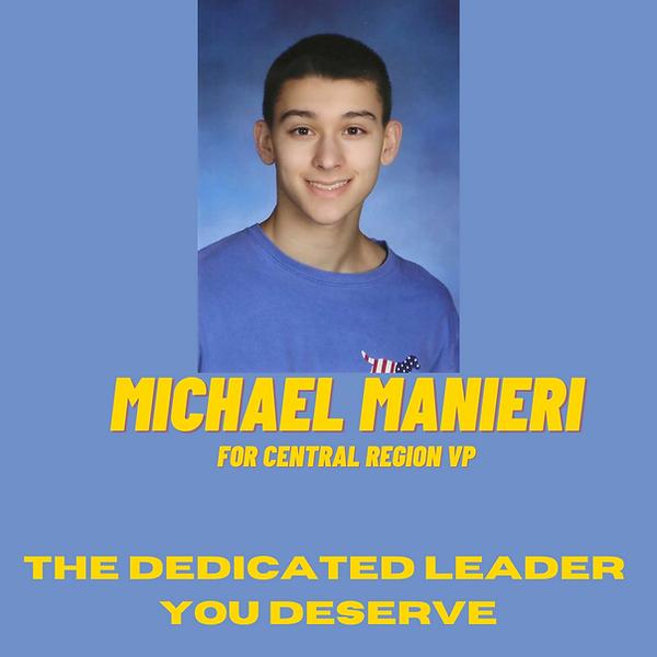 Michael Manieri for NJ FBLA Central Regi