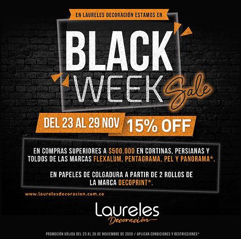 Black Week - Laureles Decoración