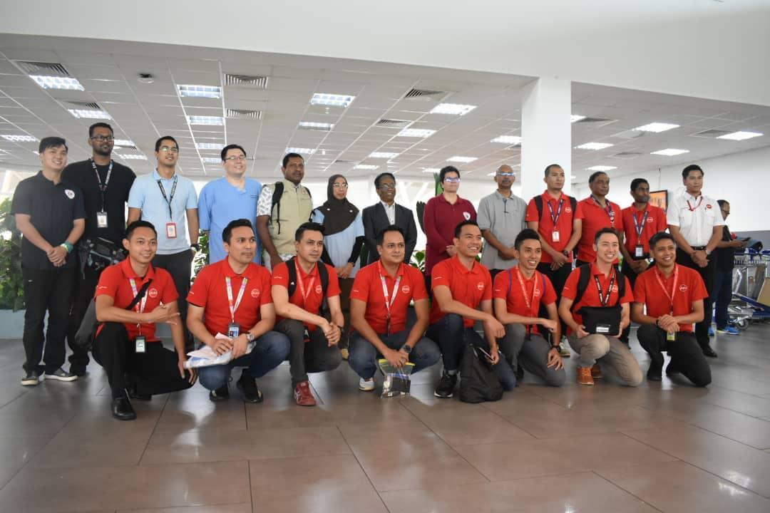 Ministry of Health Malaysia airasia crew
