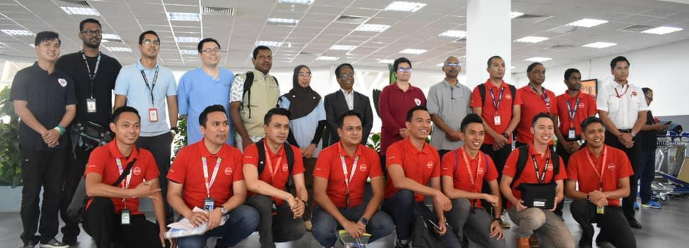 Ministry of Health Malaysia airasia crew