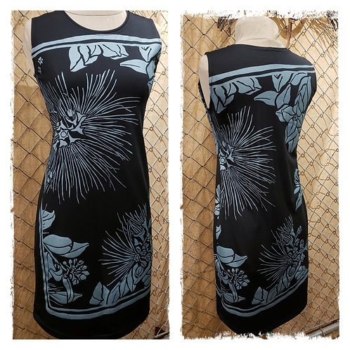 Black D23 with Lehua print