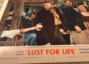 Lust For Life  Kirk Douglas Anthony Quin