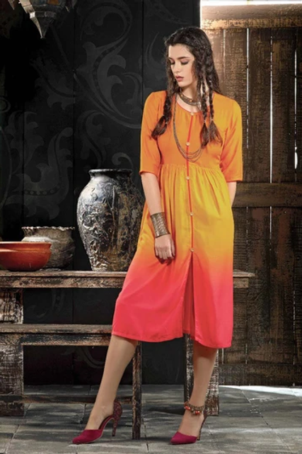 MC Design Fashionhub  EXPRESSION KURTI