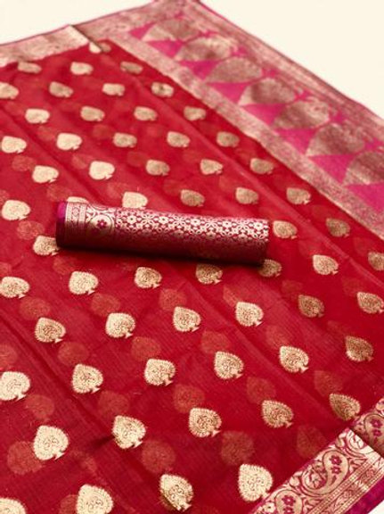 MC Design  KOTA SILK HEAVY WEAVING SAREE