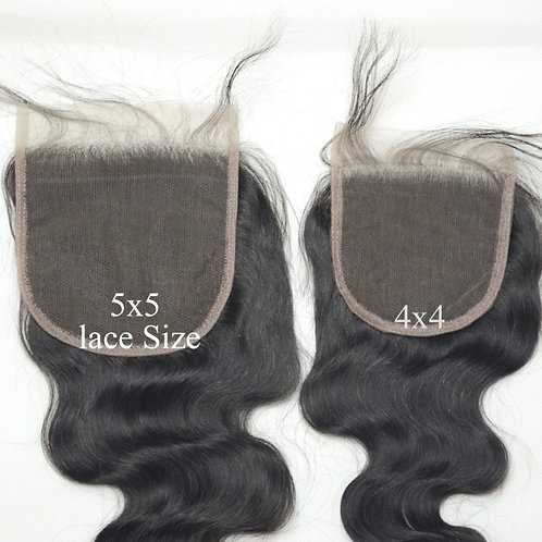 5 X5 LACE CLOSURES