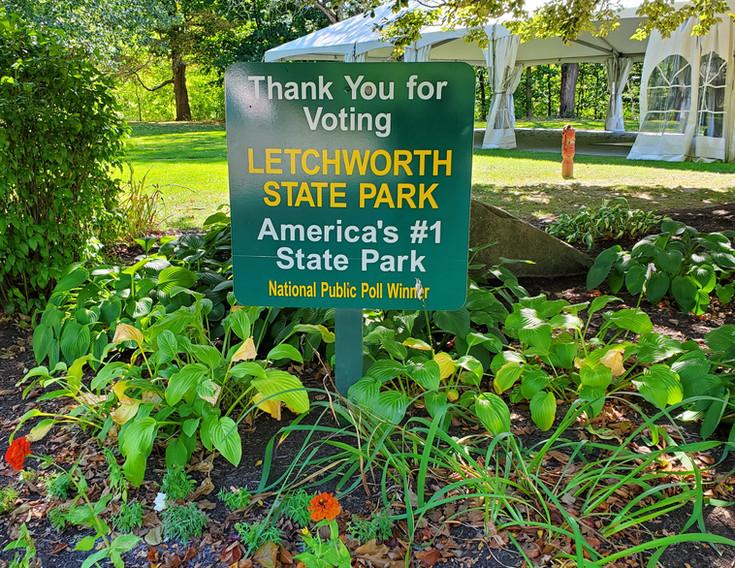 Letchworth State Park voted #1 park
