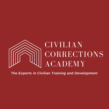 Civilian Corrections Logo (white wording
