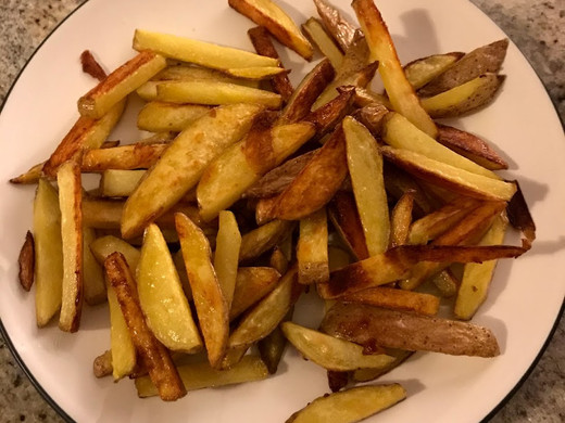 CPTSD, Perfectionism and Control: From Merely Surviving to Making Homemade Fries (+Recipe)