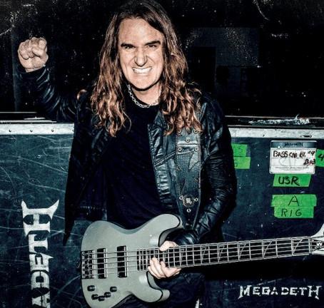 David Ellefson de Megadeth niega acusaciones de grooming y pederastia