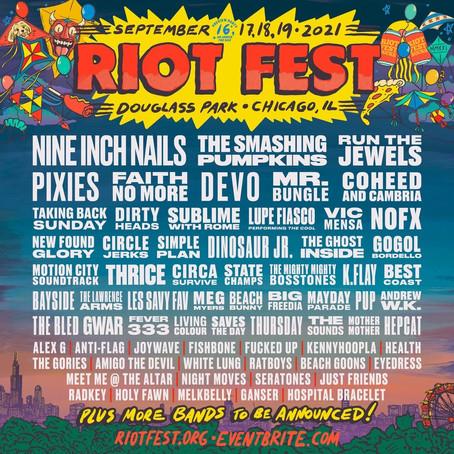 Otra de Chicago: Original Misfits encabezan el Riot Fest 2022