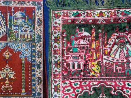 Gambar di Sajadah Jadul dan Tren Tahun 90-an Ini Ternyata Masjid Hagia Sophia