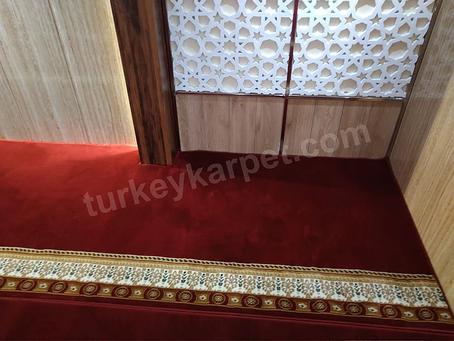 Pemasangan Karpet Masjid PT. Waskita Karya Jatinegara, Jakarta Timur