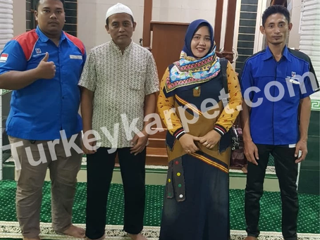 Pemasangan Karpet Masjid Nur Rohman Pondok Kopi, Jakarta Timur