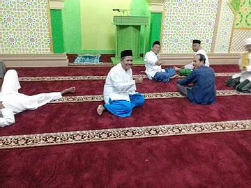 Pemasangan Karpet Masjid At-Taqwa Permata Hijau
