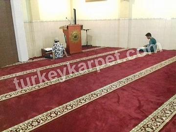 Pemasangan Karpet Masjid Baiturrohim Kedung Wuni, Pekalongan