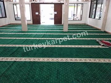 Pemasangan Karpet Masjid Jami Al-Malahein, Jakarta Utara