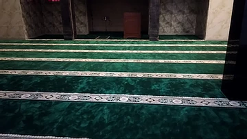 Pemasangan Karpet Masjid Al-Muhajirin, Cimahi Bandung
