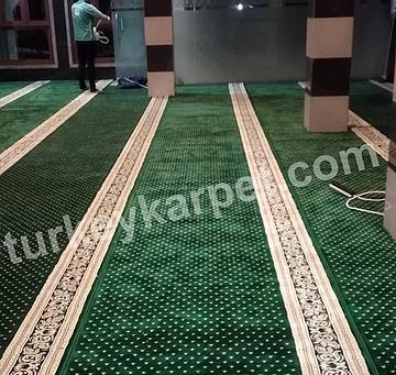 Pemasangan Karpet Masjid Al-Muhajirin Prima Regency