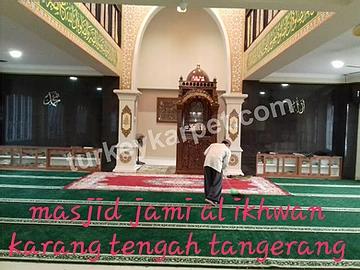 Karpet Masjid Al-Ikhwan Karang Tengah, Tangerang