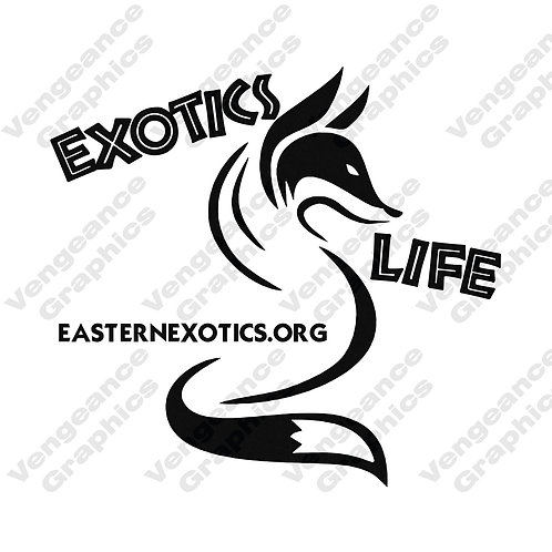Exotic Life Fox Decal