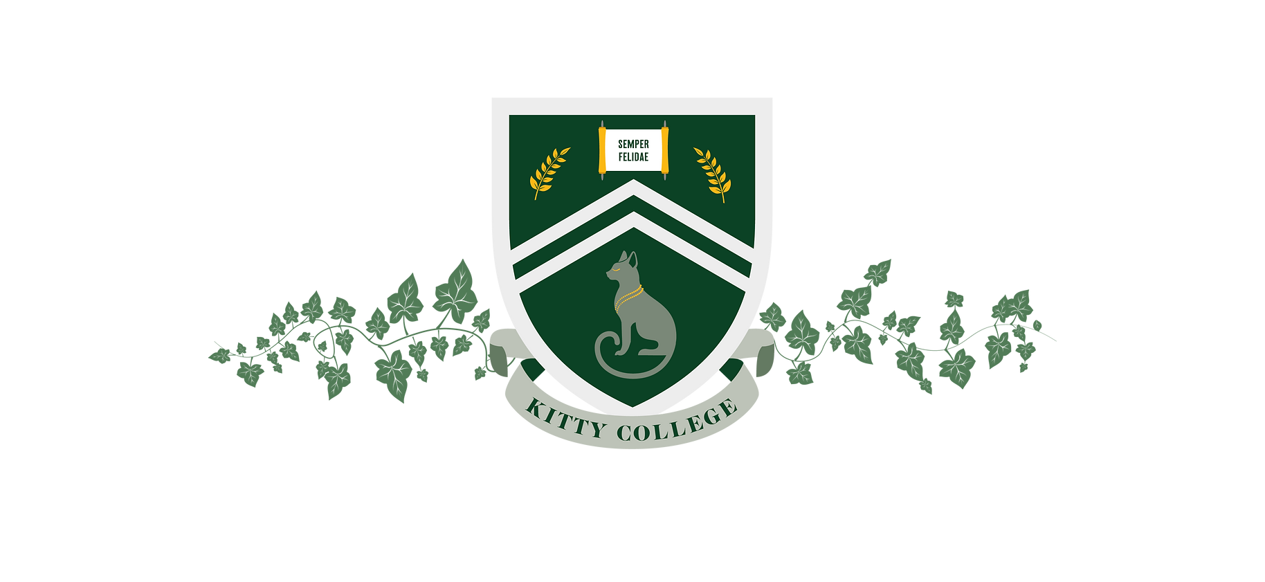 Kitty College Crest