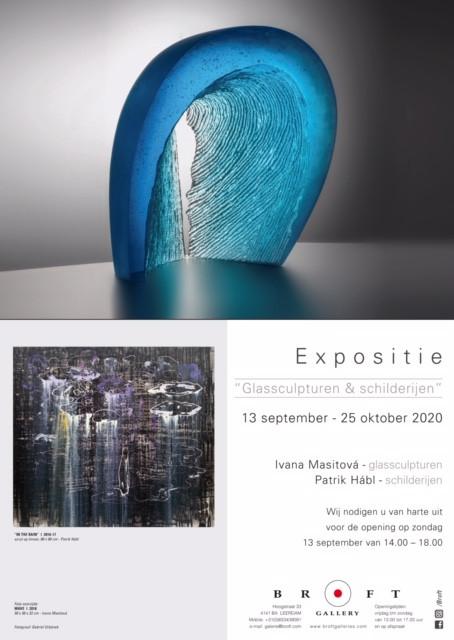 Expositie - Glassculpturen & Schilderijen: Ivana Masitova & Patrik Habl