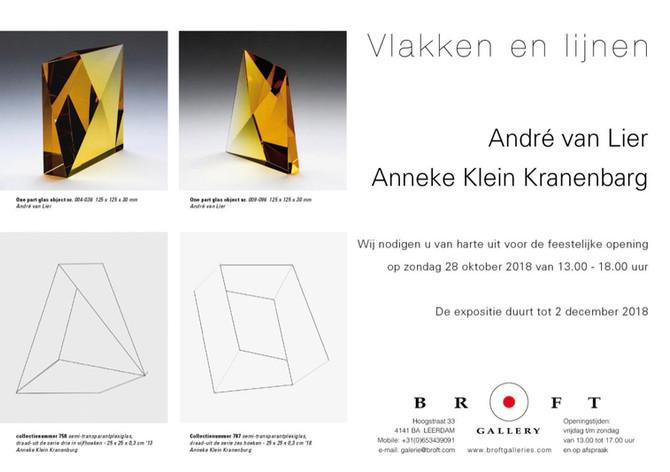 André van Lier en Anneke Klein Kranenbarg. Schaduw en lijne