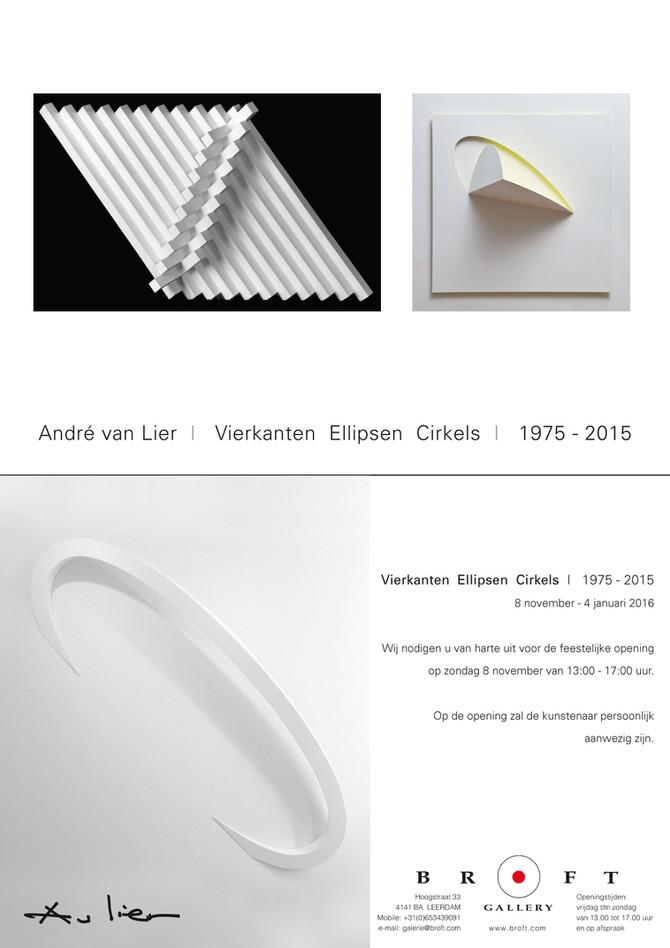 André van Lier - Vierkanten Ellipsen Cirkels
