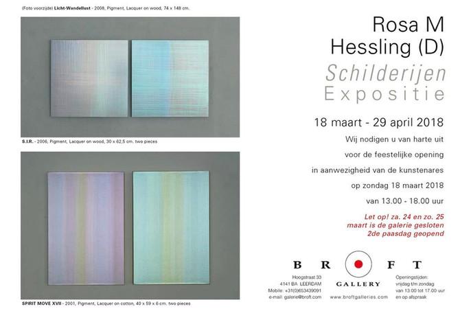 Rosa M Hessling & Tomas Brzon Expositie