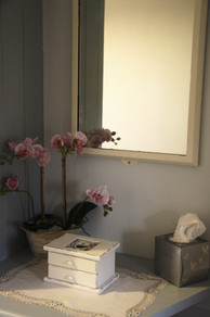 Vanity area of the master bedroom