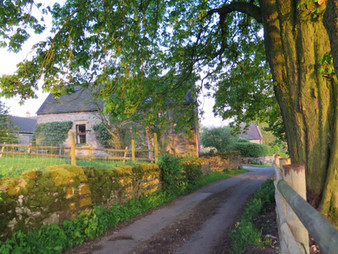 View of The Hay Barn from Furlong Lane