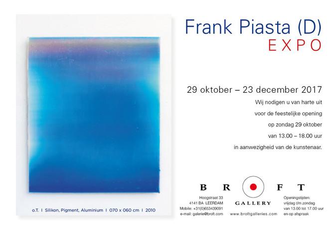 Expositie Frank Piasta