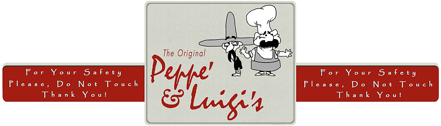 Graphic Design Peppe' & Luigi's