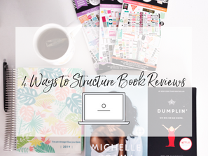 4 Ways to Structure Book Reviews