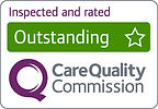 CQC (care quality commission) inspected and rated outstanding RGB.