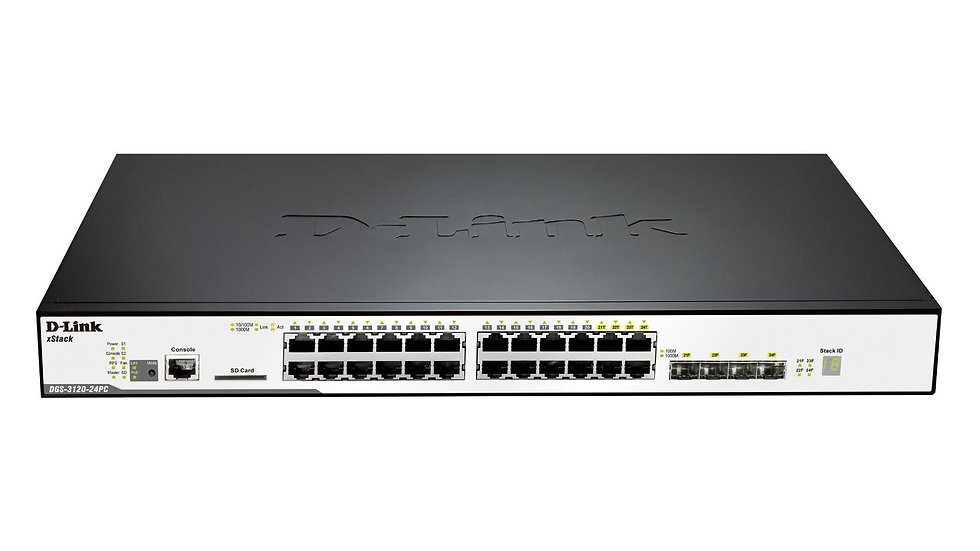 D-Link DGS-3120-24PC/ESI L2 Stackable Switch