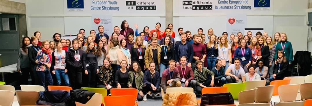 Deutsch-französische Studierende beim DFH Meet Up in Straßburg