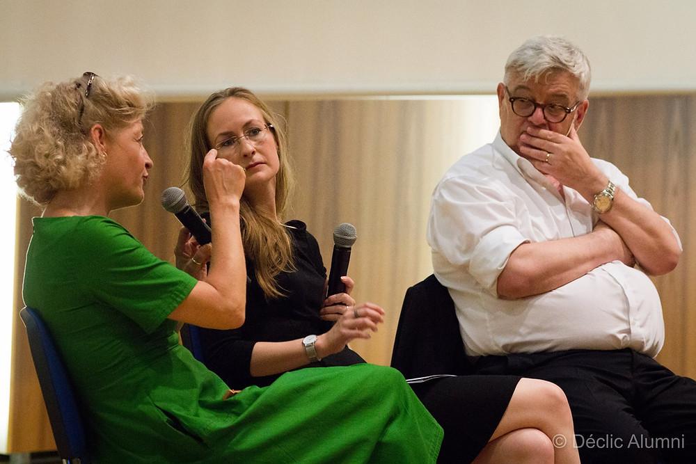 Annette Gerlach, Dr. Eileen Keller und Dr.h.c Joschka Fischer