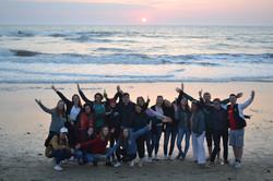 Studierende der FIFA 20 in Soulac-sur-Mer