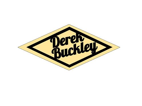 Derek Buckley Logo Sticker