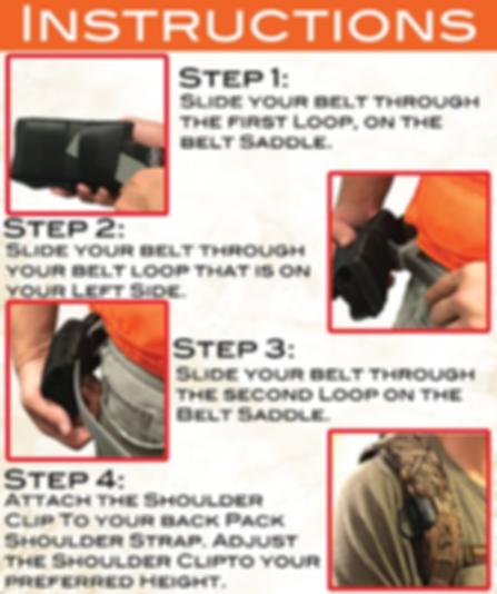 Sling Saddle Instructions